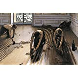 Posters: Gustave Caillebotte Poster Art Print - The Floor Scrapers, 1875 (71 x 48 inches)
