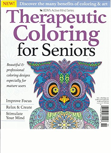 Coloring Book For Seniors | Coloring Page