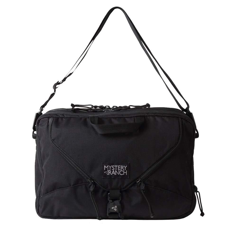 MYSTERY RANCH ミステリーランチ 3WAY BAG バッグ ショルダー リュック ビジネス ブリーフケース 22L 110046 [並行輸入品] B07RPQSB9C ブラック