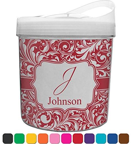 Swirl Plastic Ice Bucket (Personalized) (Monogram Ice Bucket)
