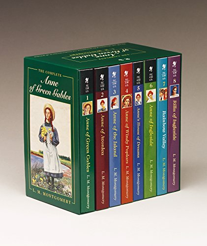 Anne of Green Gables, Complete 8-Book Box Set: Anne of Green Gables; Anne of the Island; Anne of Avonlea; Anne of Windy Poplar; Anne