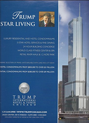 **PRINT AD** For Trump Hotel & Tower Chicago: Trump 5 Star (Chicago Hotel Towers)