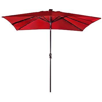 Amazon Com Abba Patio 9 By 7 Feet Rectangular Patio Umbrella With