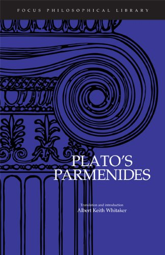 Plato : Parmenides (Focus Philosophical Library)