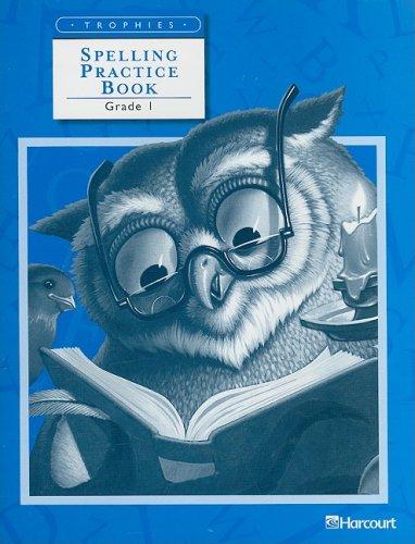 Spelling Practice Book, Grade 1 (Trophies)