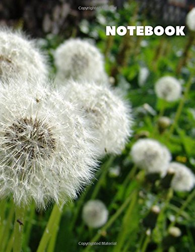 """Download Notebook: Blank Notebook, with 8.5"""" x 11"""" Size,200 Pages. (Nature Flowers) (Volume 17) ebook"""