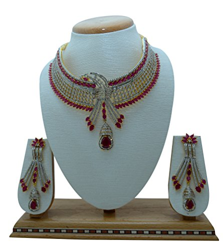du Sud indien ethnique Bijoux de mode - Ensemble collier