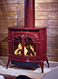Vermont Castings Radiance Gas Direct Vent Bordeaux (red) stove