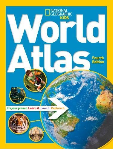 National Geographic Kids World Atlas (Atlas )