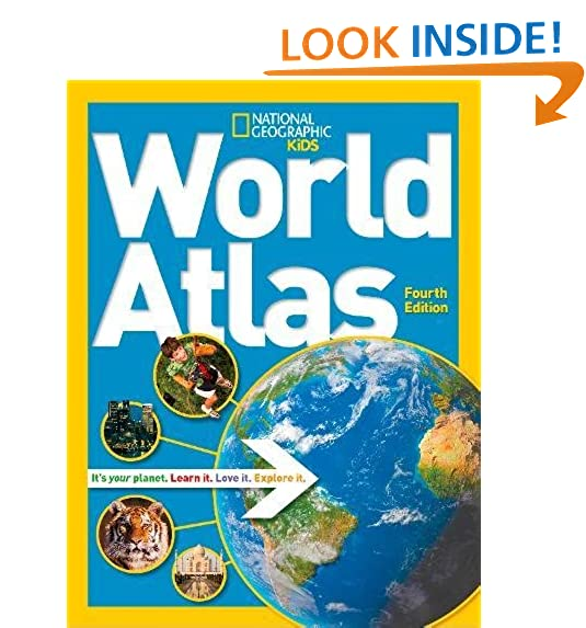 World geography for kids amazon national geographic kids world atlas gumiabroncs Gallery