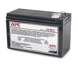APC APCRBC110 batería de sustitución para UPS, compatible con los modelos BE550G-SP / BR550GI y otros