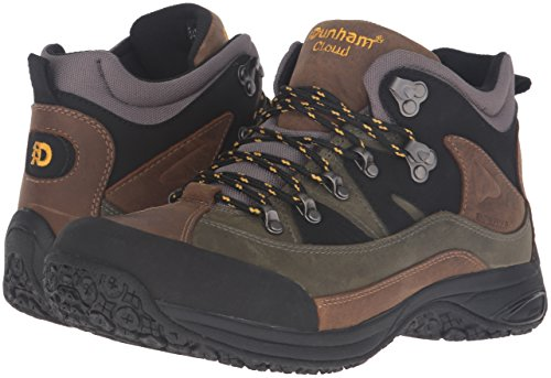 Image of the Dunham Men's Cloud Mid-Cut Waterproof Boot, Grey - 12 4E US