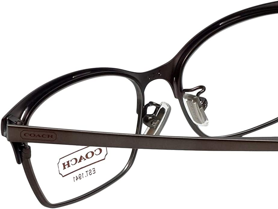 Coach Terri Eyeglasses HC5041 9141 Satin Burgundy//Satin Dk Silver 53 15 140