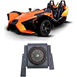 Polaris Slingshot Behind Driver or Passenger Seat 10 Kicker Subwoofer+Enclosure