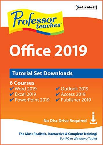 Professor Teaches Office 2019 Tutorial Set Downloads [PC Online code]