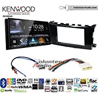 Volunteer Audio Kenwood DDX9904S Double Din Radio Install Kit with Apple CarPlay Android Auto Bluetooth Fits 2013-2015 Nissan Altima