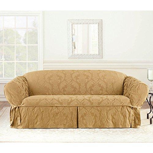 sure fit matelasse damask sofa