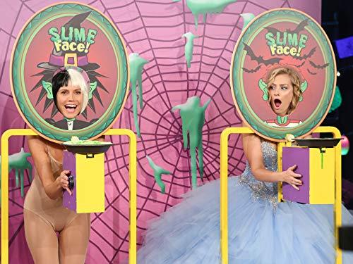 Heidi Klum and Beth Behrs Play Slime ()