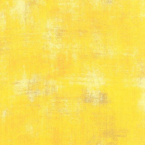 Moda Basic Grey Grunge Cotton Quilt Fabric Sunflower Style 30150/281