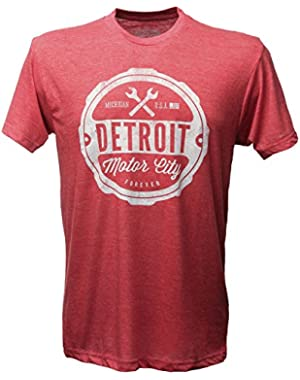 (0001) Detroit Motor City Forever T-Shirt, Detroit T-Shirts LLC
