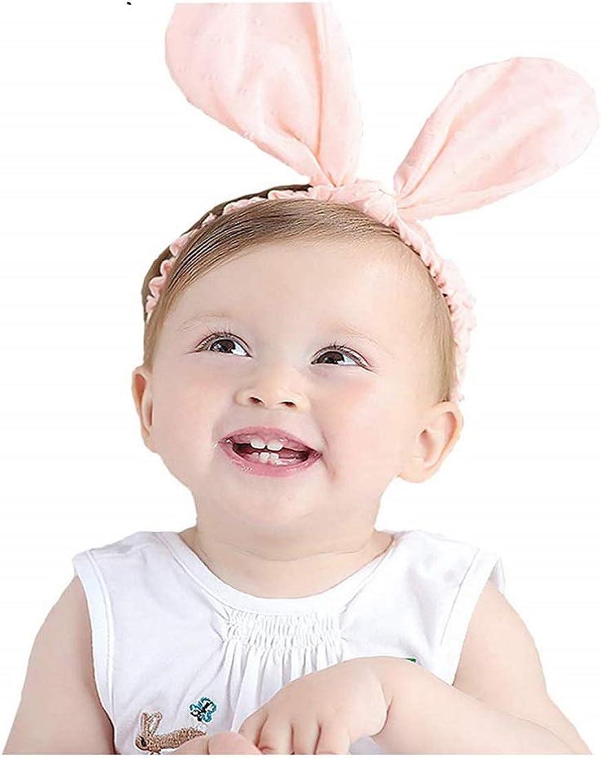 New Kid Headband Baby Infant Girl Headwear Flower Rabbit Hairband