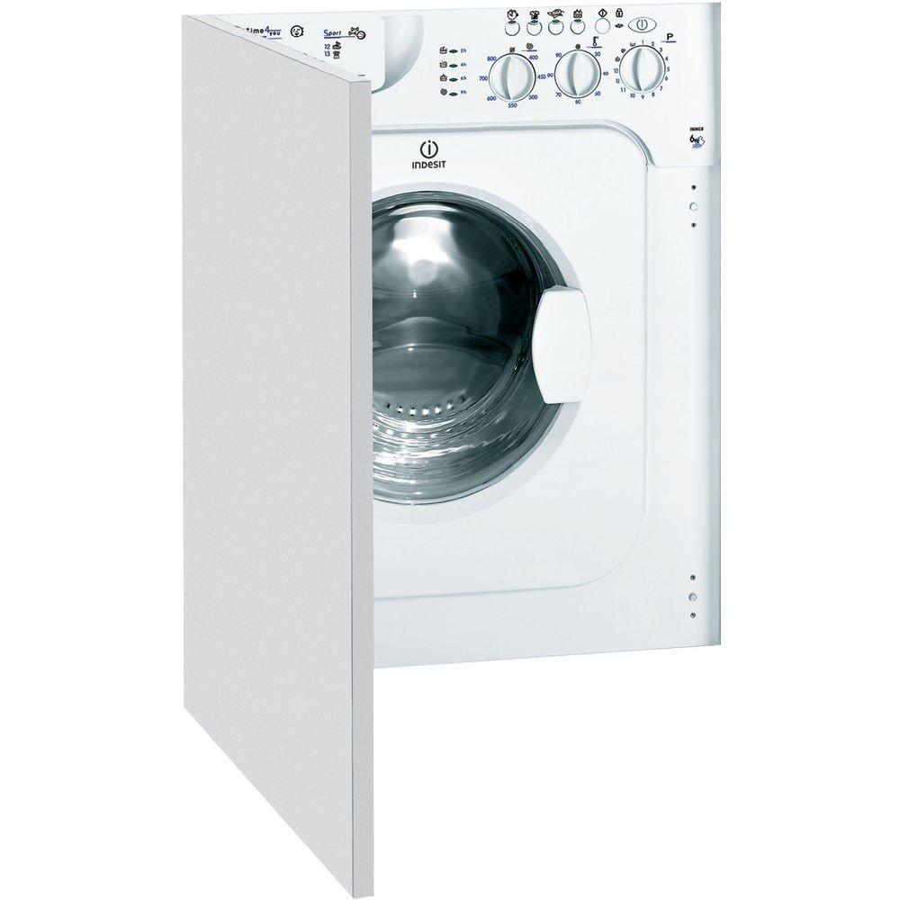 Indesit IWME 8 (EU) Integrado 6kg 800RPM A+ Color blanco Front ...