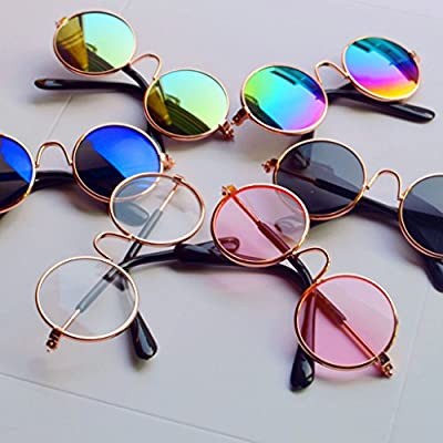 Leidersty Toy Eyeglasses for Dolls- Sunglasses for Grils Dolls Toy Photo Props Accessories: Toys & Games