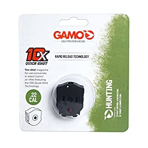 Gamo Outdoors .22 Cal 10X QUICK-SHOT Magazine for Gamo Swarm Maxxim (10 shot), Black - 621258654