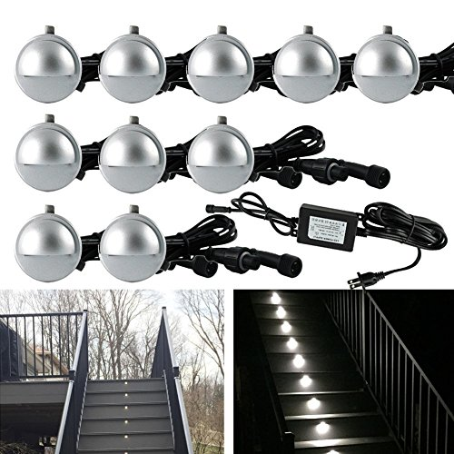 Outdoor Led Stair Light Kit - 8