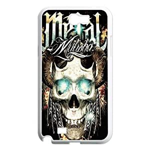Wlicke Metal Mulisha Personalized Durable samsung galaxy note2 n7100 Case, Brand New Protective Cover Case for samsung galaxy note2 n7100 with Metal Mulisha