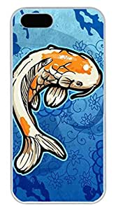 Art Fish Easter Thanksgiving Masterpiece Limited Design PC White Case for iphone 5/5S by Cases & Mousepads