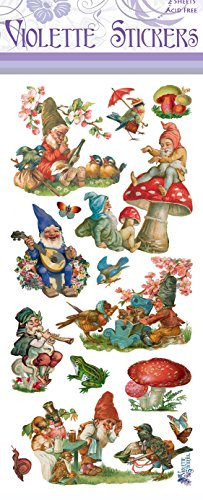 Violette Stickers Gnomes Gnomes Sticker