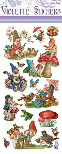 Gnomes Sticker - Violette Stickers Gnomes
