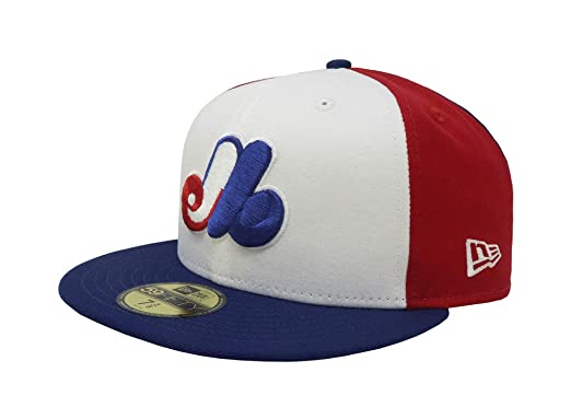 81854dd6b8291 New Era 59Fifty Hat Montreal Expos Cooperstown 1969 Wool Fitted Headwear  Cap (7 1