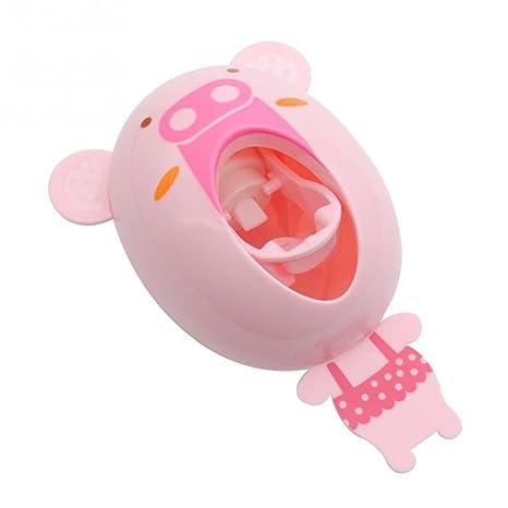 OUNONA Divertidos cepillos de dientes de dibujos animados de los niños Manos libres automáticos lindos Animal