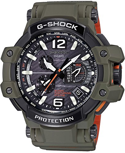 CASIO G-SHOCK Master in OLIVE DRAB GPS GPW-1000KH-3AJF MENS JAPAN IMPORT