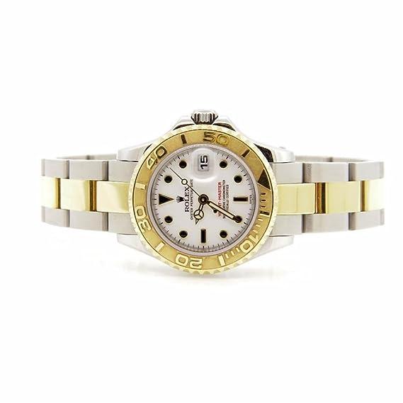 Rolex Yacht-Master 169623 - Reloj automático para mujer (certificado de autenticidad)