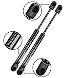 Vepagoo 4058 Universal Lift Supports Struts Shocks Gas Springs 10mm Ball Socket Force Per Shock 35 Lbs (156N) Extended Length 10 Inches,Set of 2