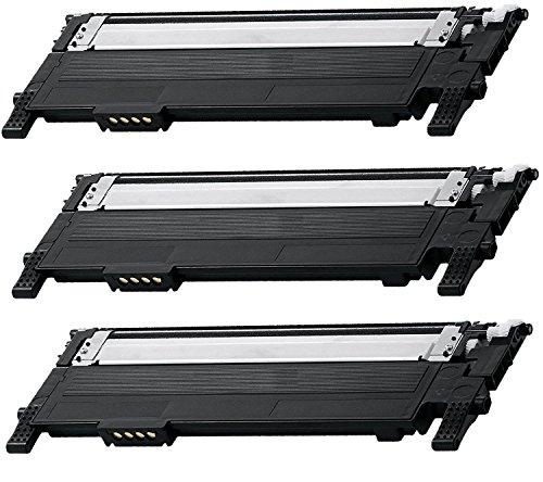 Price comparison product image 3/Pack CLT-K406S Black Toner Cartridge for Samsung Compatible with: CLX 3300 3305 SL C460 410 CLP 360 365 Xpress C460 C410