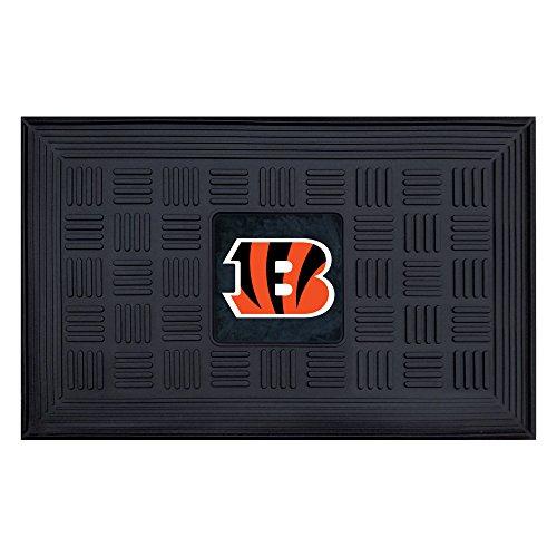 FANMATS NFL Cincinnati Bengals Vinyl Door Mat (Bengals Vinyl Nfl)