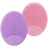 Sonic Facial Cleansing Brush, Soft Silicone...