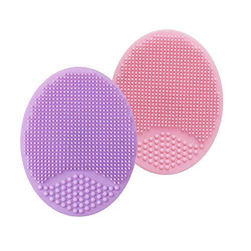 pink face scrubber - 1