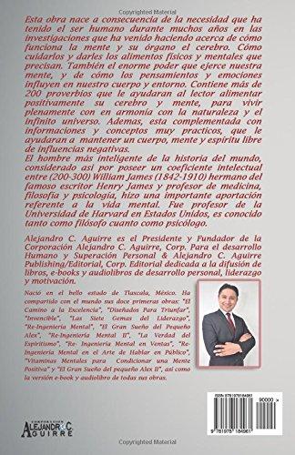 Vitaminas mentales para condicionar una mente positiva: Más de 200 frases para condicionar la mente (1) (Volume 1) (Spanish Edition): Alejandro C. Aguirre: ...