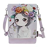 Teens Kids Students Cartoon Mini Shoulder Bags Crossbody Bags Cell Phone Holder Case Small Wallet Purse