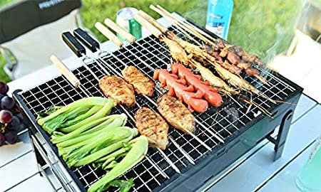 DIPOSABLE BBQ Barbecue Instant Grill Patio Outdoor Garden Charcoal Firelighter ✔
