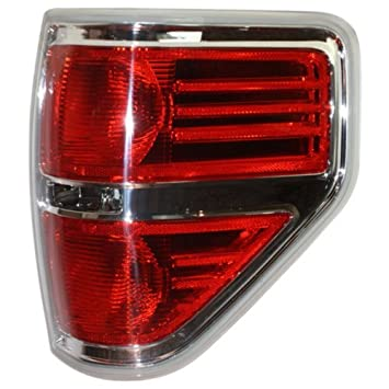 Tail Light for Ford F-150 04-08 Lens and Housing Red//Clear Styleside New Body Style Left Side