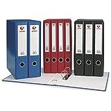 Grafoplás 7284310-Módulo de 3 archivadores con palanca de 65mm color negro