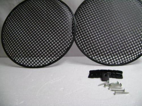 Two 15 Metal Mesh Speaker Grill w// Mesh Speaker Clamps /& Screws 2