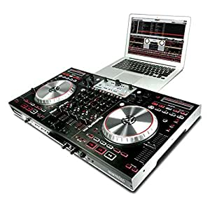 Numark NS6 Mesa de mezclas digital DJ 4 Decks USB Audio