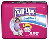 Huggies Pull-Ups Training Pants with Cool Alert Wetness Liner, Girls, 2T-3T, 44-Count